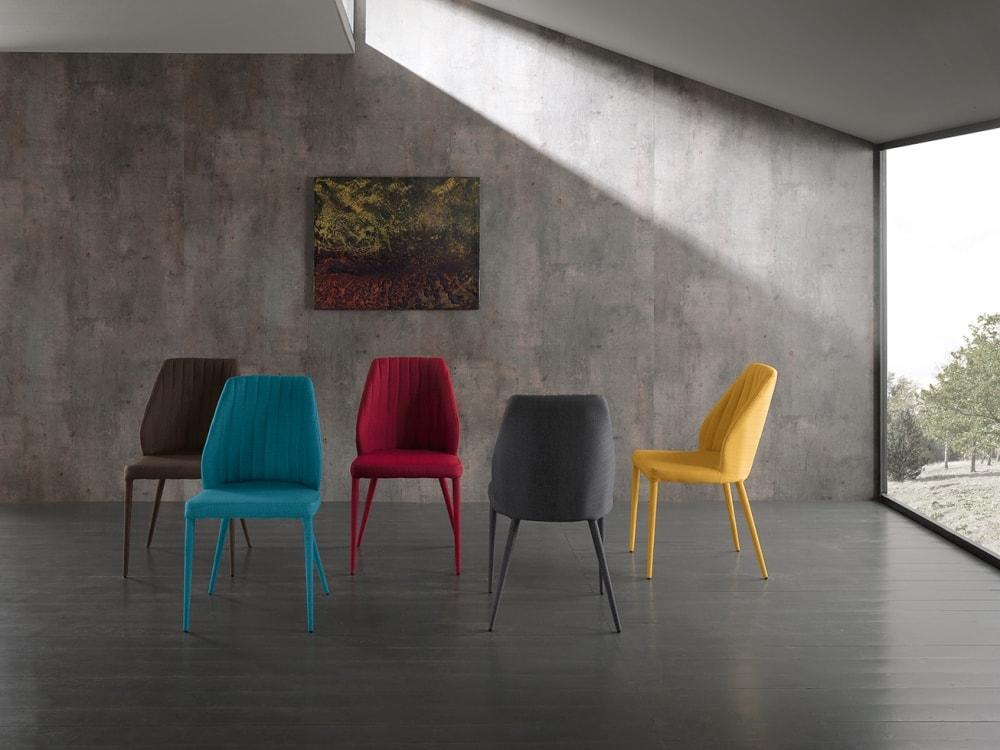 Sedie In Ecopelle Colorate.Tavoli E Sedie Salaroli